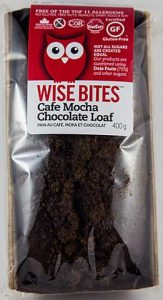 Wise Bites Cafe Mocha Chocolate Loaf