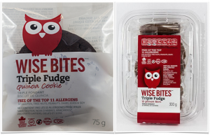Wise Bites Triple Fudge Cookies Bars