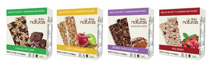 Libre Naturals Granola Bars