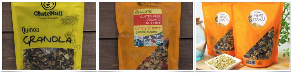 glutenull gluten free granola