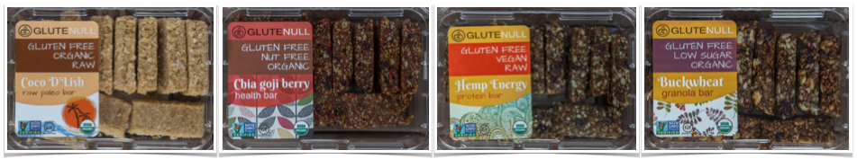 glutenull organic bars