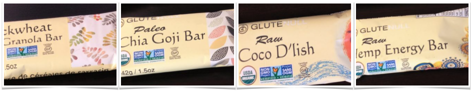 glutenull single organic bars
