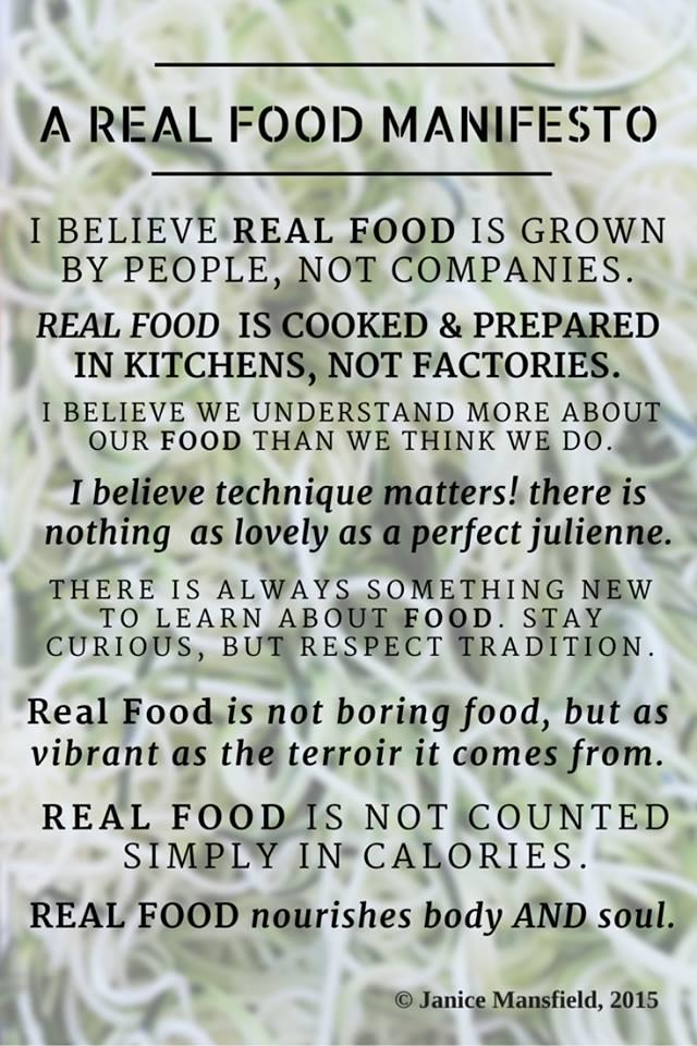 real-food-manifesto