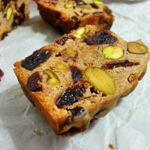gluten-free Brandied Christmas Fruitcake