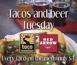 Taco Revolution is Back @ Red Arrow Brewing!  | Koksilah | British Columbia | Canada