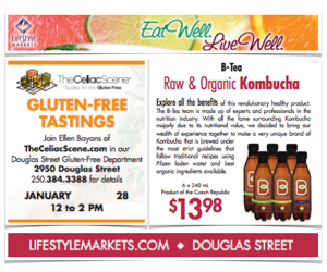 Gluten-Free Tastings Lifestyle Markets
