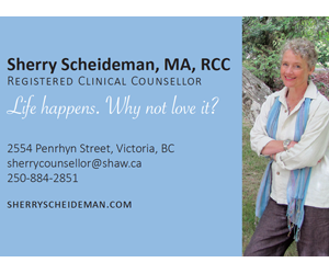 Sherry Scheideman, MA, RCC