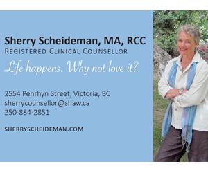 Sherry Scheideman, MA, RCC
