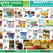 Thrifty Foods Gluten Free Flyer