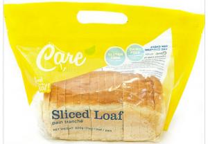 care bakery sliced bread
