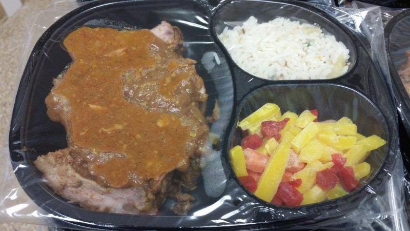 Braised-Pork-Back-Ribs-Pineapple-Rice-and-Chefs-Vegetables-2