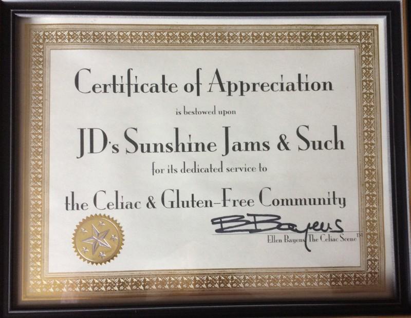 JDs-Certificate