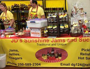 JDs sunshine jams A
