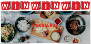 CONTEST ENDS 5PM - Dinner for Two @ Noodlebox Victoria