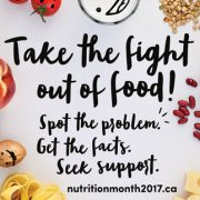 Nutrition Month March 2017 B