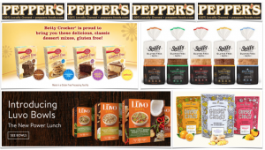 Pepper's Foods Gluten Free Flyer