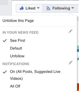 Receive Facebook Notifications
