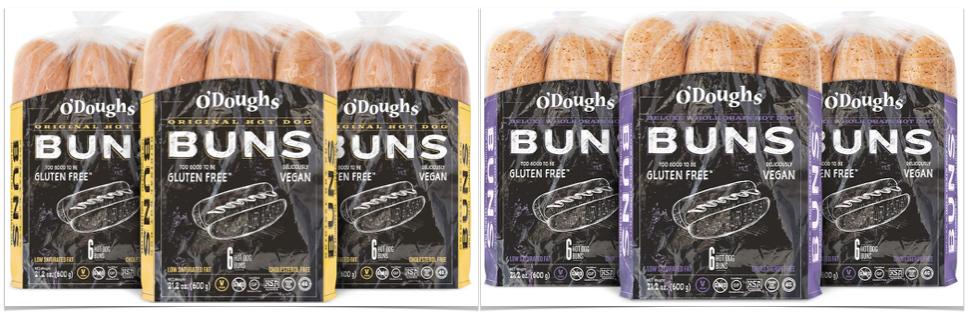 gluten free hotdog buns