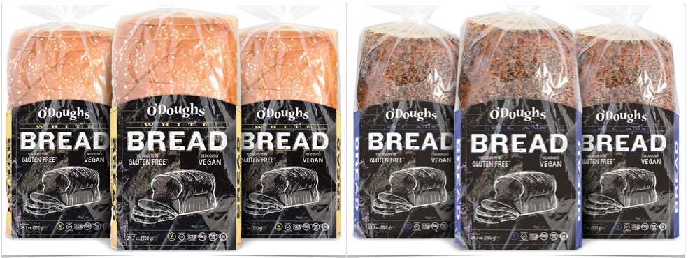 gluten free bread loaves