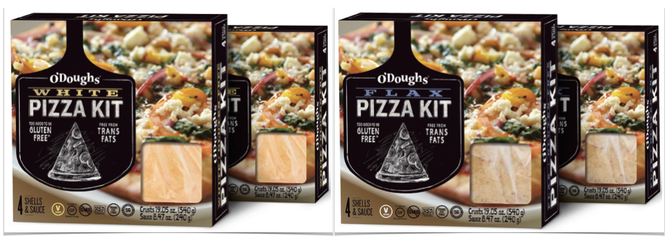 gluten free pizza kits