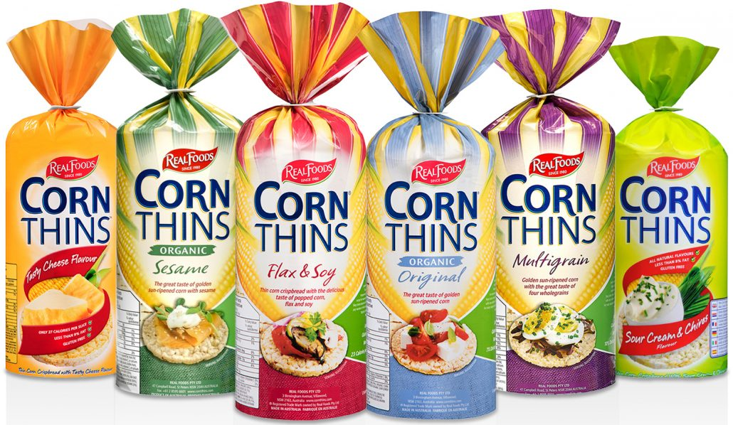 Canada Corn Thins - Cropped