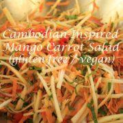 gluten free mango carrot salad WP
