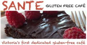 Contest Time @ Sante Gluten-Free Cafe | Victoria | British Columbia | Canada
