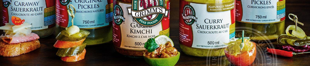 Grimm's Gluten-Free Naturally Fermented foods