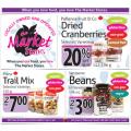 Market store gluten free flyer IG
