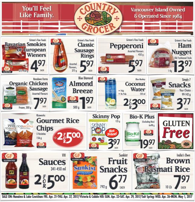 gluten free county grocer
