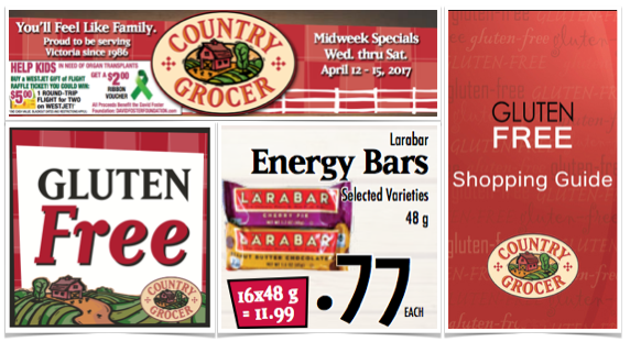 gluten free special country grocer