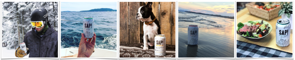 Chef Pola Gluten-Free Sap Maple Seltzer