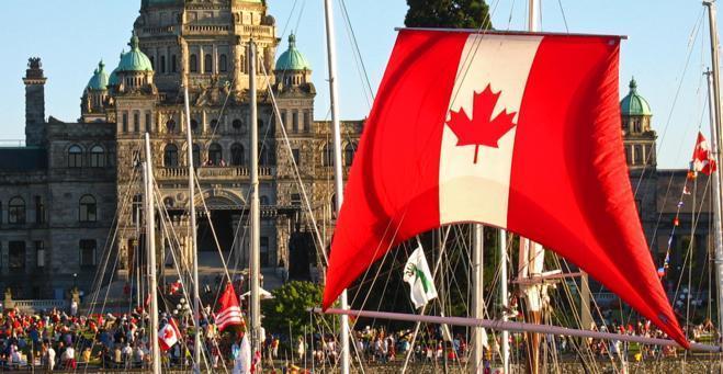 Canada Day, Robert Gubiani, Tourism Victoria