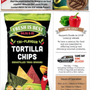Gluten Free Flyer Pepper's Foods