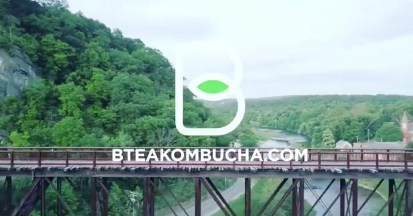 B Tea Kombucha Video