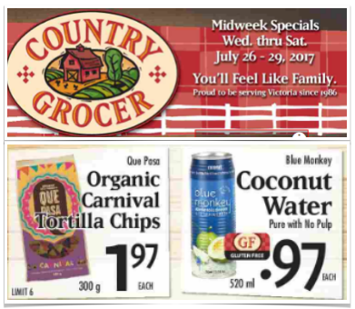 Country Grocer Mid-Week Specials