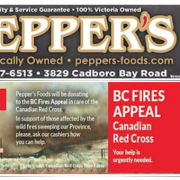 Pepper's Gluten-Free Flyer