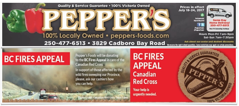 Pepper's Gluten-Free Flyer
