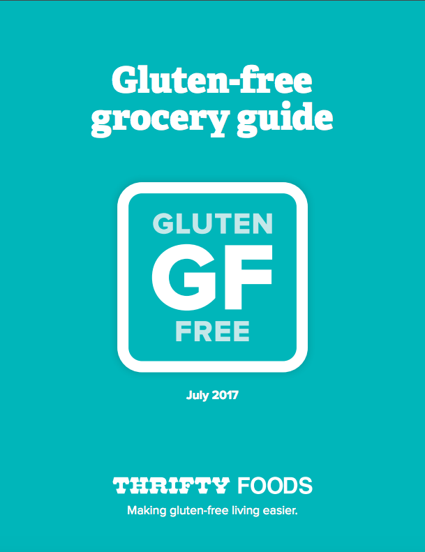 Thrifty Foods GF Guide July 2017 1