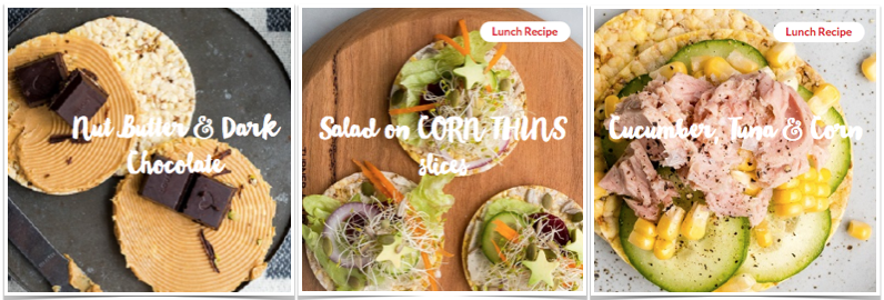 Corn Thins Gluten Free July