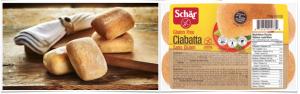 Schar Gluten Free Ciabatta Rolls