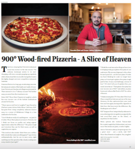 900˚ Pizzeria EAT Magazine