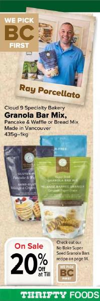Cloud 9 Gluten-Free Mixes 3