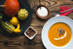 Selena De Vries Squash and Carrot Soup