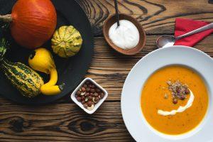 Selena De Vries Squash and Carrot Soup