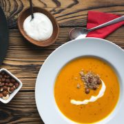 Selena De Vries Squash and Carrot Soup wp
