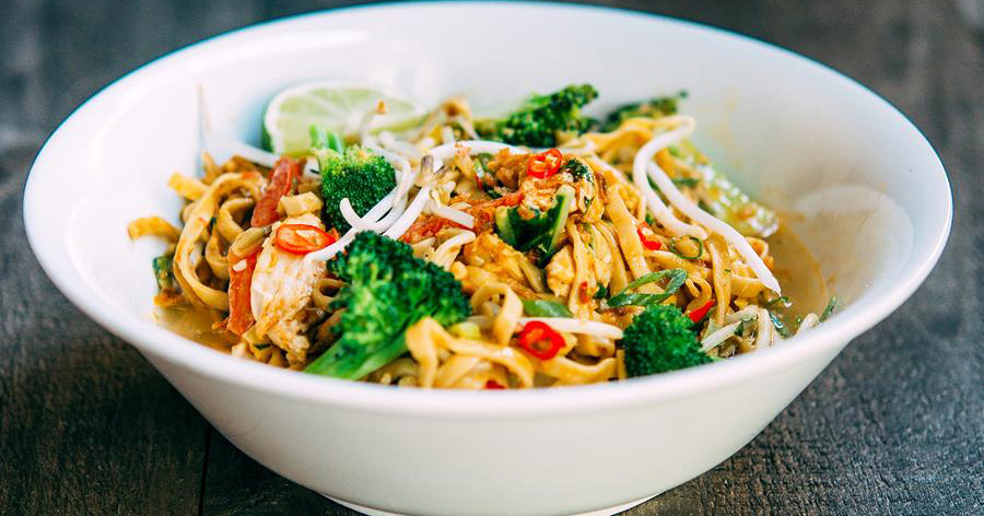 gluten-free spicy noodles FB