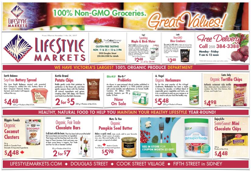 Lifestyle Markets Gluten-Free Flyer