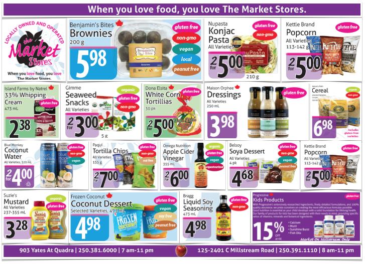The Market Store Gluten-Free Flyer
