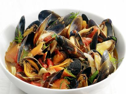 Curried-Mussels